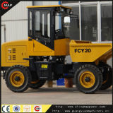 2ton Earth Moving Machine Fcy20 Mini Site Dumper