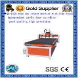 Modèle Standard Ql-1325A Contreplaqué Carving Router CNC pour la gravure de coupe Drilling