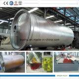 열분해 기계 환경 Friendl 재생 기름을 바르는 12ton에 의하여 이용되는 고무