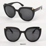 Óculos de sol desproporcionados da forma nova com metal Deco