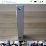 AluminiumPatrs durch CNC, der in der Qualität maschinell bearbeitet