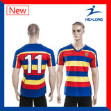 Sublimation Printing Rugby Jersey Shirt Uniform