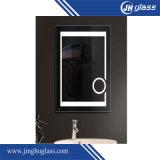 Rayas Framless LED iluminado rectángulo Espejo Espejo de plata