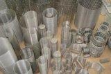 cilindro tejido del filtro de acoplamiento de alambre del acero inoxidable 304 316
