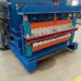 Galzed Fliese-Dach-Panel-Rolle, die Maschine bildet