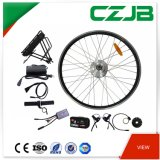 Jb-92q impermeable de 26 pulgadas de bicicleta eléctrica kit de conversión de la rueda delantera