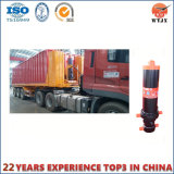 Meertrappige Hydraulische Cilinder voor de Vrachtwagen van de Stortplaats/Aanhangwagens