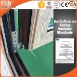 Le guichet de tente d'alliage d'aluminium et Extérieur-Balancent le guichet Using le matériel américain, tissu pour rideaux satisfaisant Windows