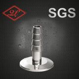 304/316 di capezzolo lungo d'acciaio sanitario del tubo flessibile dell'accoppiamento di tubo flessibile di Stainess