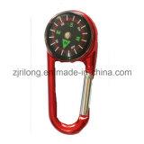 나침의 모형 박사 Z0076와 가진 안전 바다 Carabiner를 잠그는 분류된 색깔 용수철이 있는 문 병 알루미늄
