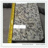 中国白の花こう岩の大理石の水晶虚栄心の上