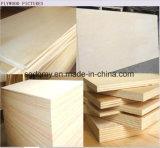 Tarjeta comercial de la madera contrachapada de la chapa de madera natural con el precio de Lowes