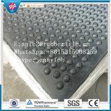 Beständiger Gummimattenstoff der Luftblasen-Oberseite-100%, pferdeartige Gummimatte