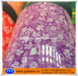 Bel acier Coil/PPGI de couleur de configuration de fleur