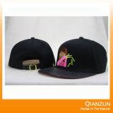 3D刺繍の急な回復は6つのパネルの急な回復の帽子をキャップする