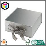 Caixa de papel do presente elegante Foldable da jóia do cartão para o lenço