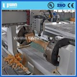 Snijdende Machine van de Deur van het Meubilair van de Houtbewerking van Rotray de As Gecombineerde in Hout