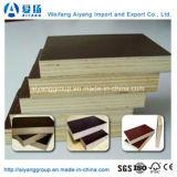 Preto de alta qualidade/película marrom/vermelho perante o Fornecedor de contraplacado provenientes da China