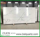 De Grote Plak van het Kwarts van China Calacatta Nuvo in Lage Prijs