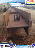 Barra di /H del fascio di H saldata acciaio per le costruzioni della struttura d'acciaio