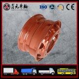 Zhenyuan 바퀴 (24.5*8.25)를 위한 고품질 버스 바퀴 변죽