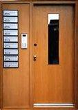 Hotel를 위한 BS Standard와 가진 나무로 되는 Fire Door