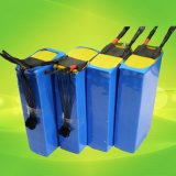 Tamanho e tipo personalizados bloco do Li-íon das baterias de LiFePO4 para a bicicleta elétrica