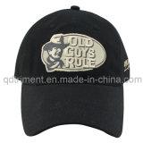 Populares de camuflaje digital de algodón de lona de ocio gorra de béisbol (TMB03947)