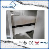 Gabinete de vaidade de canto de banheiro de cor branca (ACF6060)