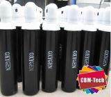 bottiglie di ossigeno d'acciaio 5L con le protezioni del cilindro