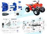 150cc 대중적인 ATV는 분해한다 (제공되는 전체적인 부속)