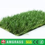 grama artificial lisa da altura de 30mm para a paisagem (AMF327-30D)