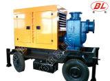 Rimorchio diesel centrifugo della pompa ad acqua dei rifiuti