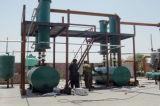 Machine de recyclage des déchets de l'huile vert 10tonne usine de distillation d'huile