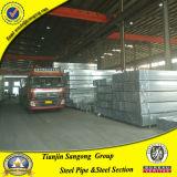 120 g/m2 Gi tuyaux carré en acier galvanisé