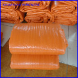 Couverture corrigeante concrète isolée de bâche de protection de PE