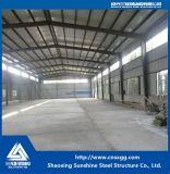 Prefabricados personalizados de bajo coste de almacén de la estructura de acero