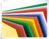 Feuille en plastique ondulé en plastique 4 * 8 PP pour le marché mexicain, Coroplast