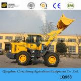 Lingong 5 пилотного тонн затяжелителя колеса машинного оборудования конструкции управления