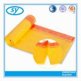 Покрашенный HDPE мешок отброса шнура притяжки