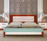 Camas modernas da cama de madeira contínua (M-X2229)