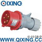세륨 증명서 (QX-4)를 가진 IP67 산업 휴대용 플러그