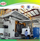 Máquina que sopla plástica del tanque de la máquina/de agua del moldeo por insuflación de aire comprimido de la protuberancia de la acumulación de las paletas