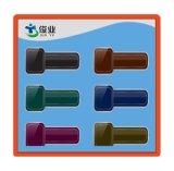 La forme de marteau avec l'étiquette différente de document de couleur