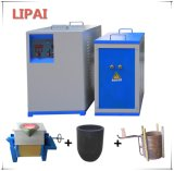 Beweglicher kundenspezifischer Induktions-elektrischer schmelzender Mittelfrequenzofen 60kw