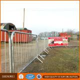 Портативной гальванизированные конструкцией барьеры безопасности дороги