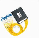 Optische Wdm Mux/Demux van de vezel 16CH Plastic Doos CWDM