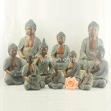 販売のための装飾の彫像の樹脂の終わりの仏の宗教彫像