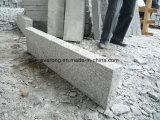 O granito G603 inflamou a pedra de resguardo de pavimentação de superfície para a estrada