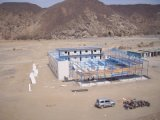 Zwischenlage-Panel-modulares Haus verwendet in Saudi-Arabien